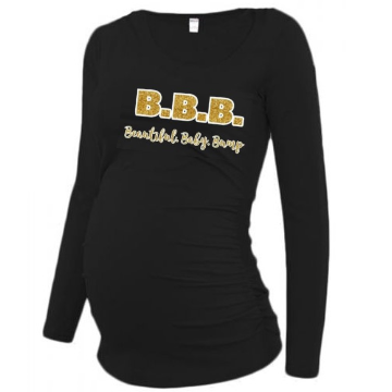 B.B.B. - Beautiful. Baby. Bump Maternity Tee