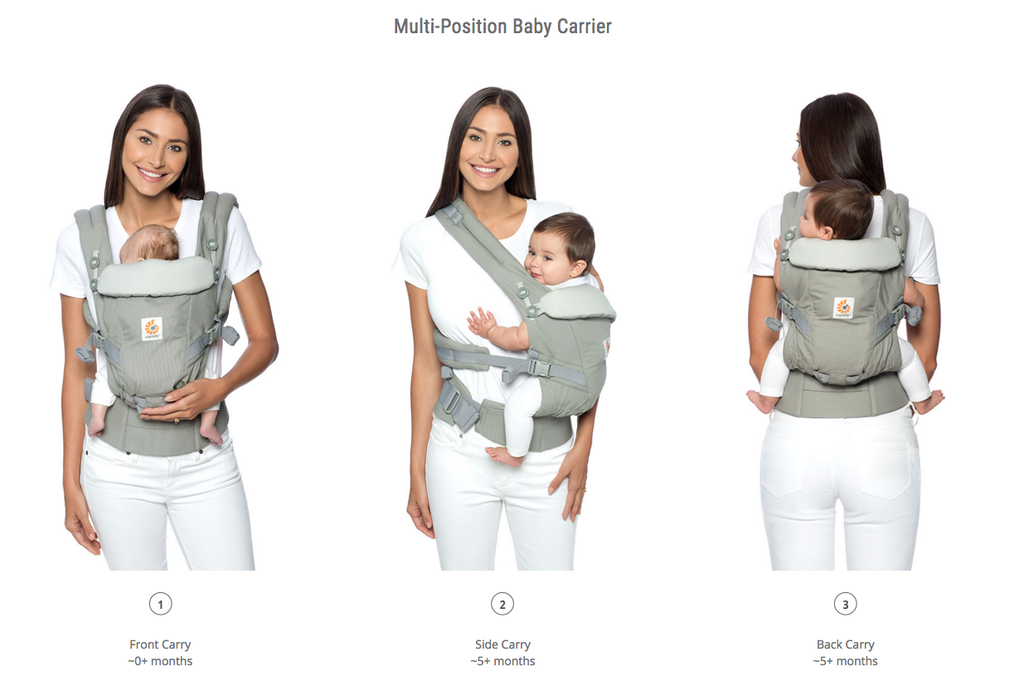 Ergobaby Adapt Cool Air Mesh – Naturally! BeBe