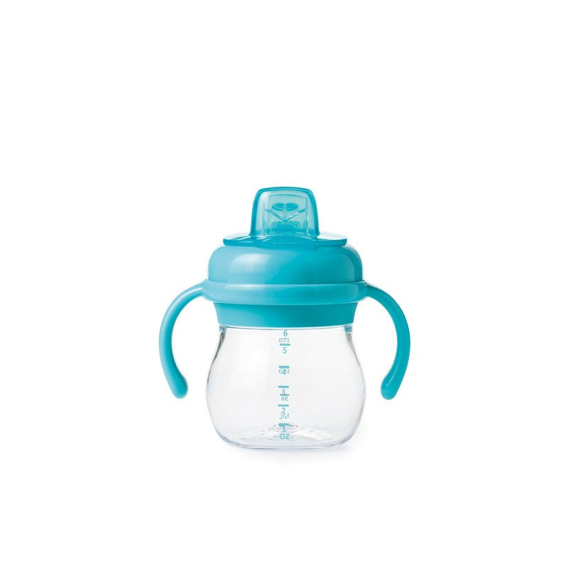 OXO TOT GROW SOFT SPOUT SIPPY CUP WITH REMOVABLE HANDLES
