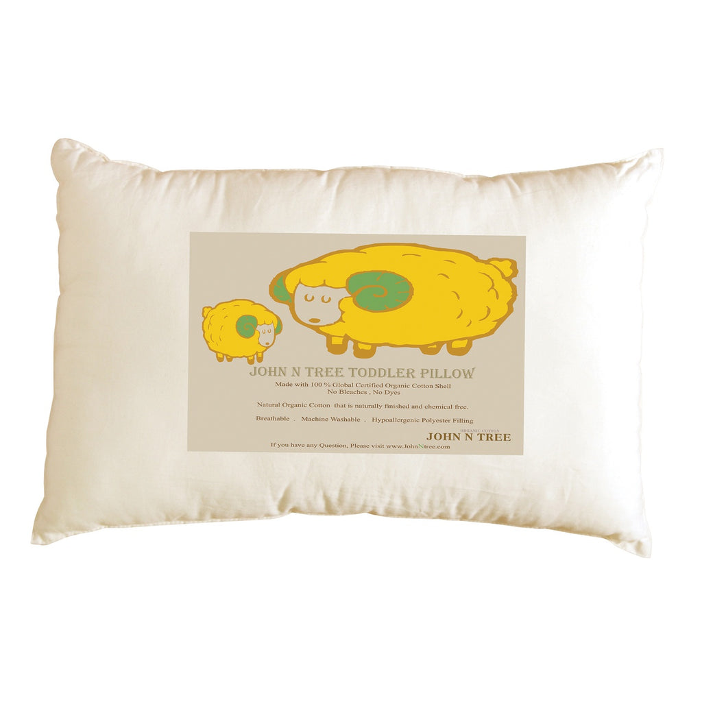 JOHN N TREE Organic Toddler Pillow Shell