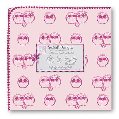 Swaddle Designs Ultimate Receiving Blanket Owls