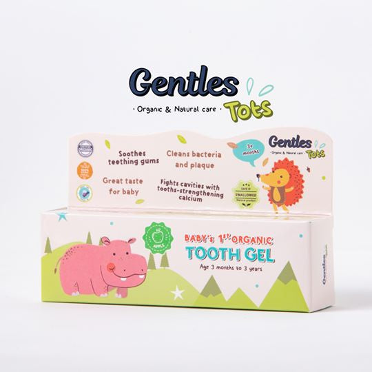 Gentles Tots Baby's 1st organic tooth gel (age 3 months)