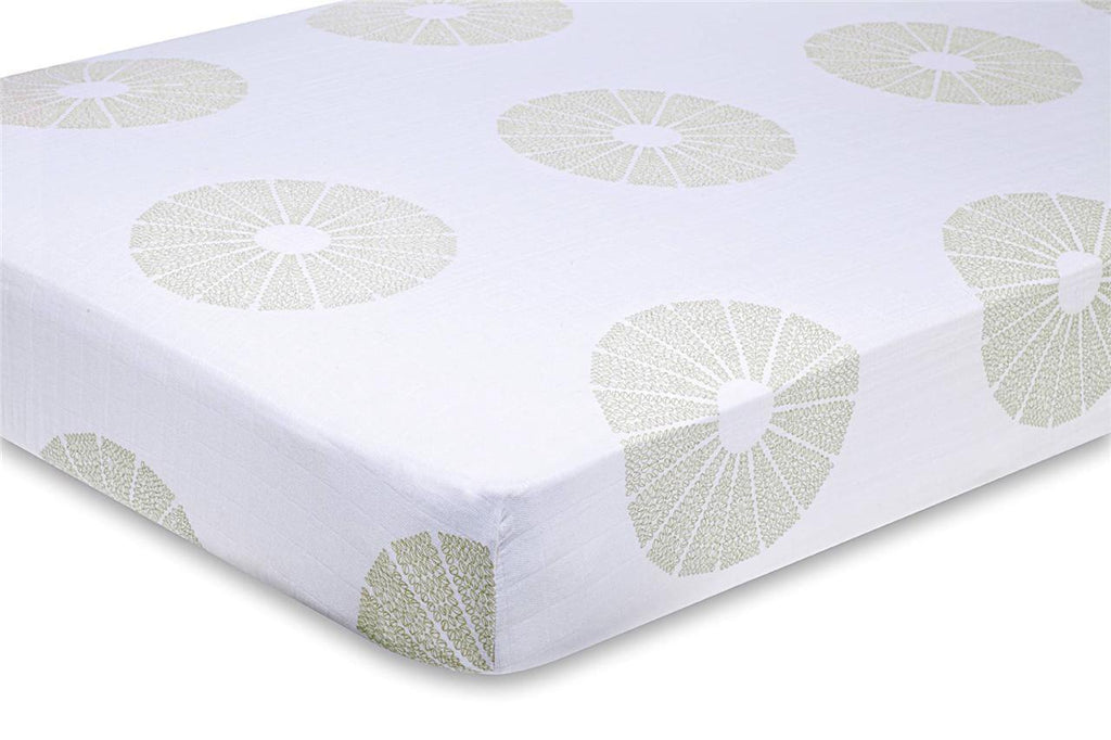 Aden & Anais Single Organic Crib Sheets