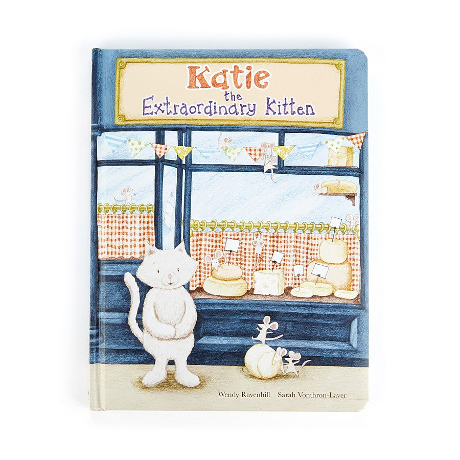 Jellycat Katie the Extraordinary Kitten Book