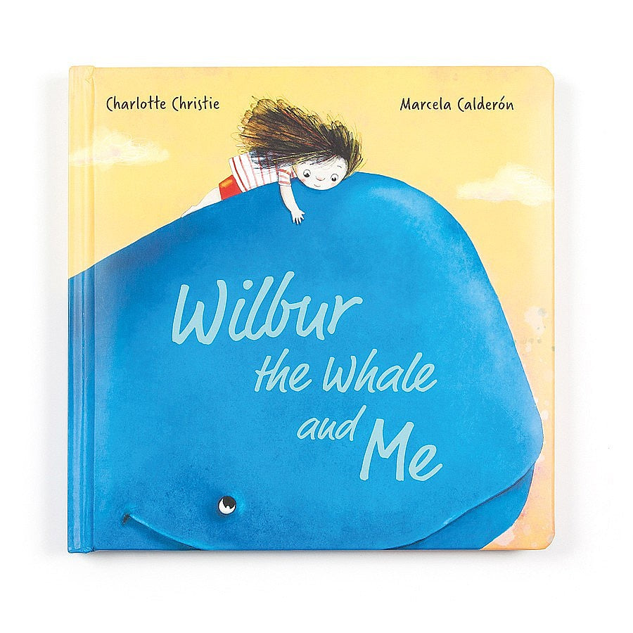 Jellycat Wilbur Whale and Me Book