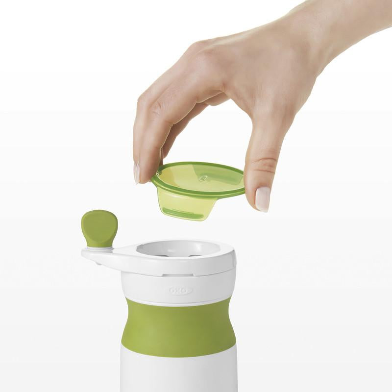 OXO TOT BABY FOOD MILL WITH SILICONE FEEDING SPOON SET