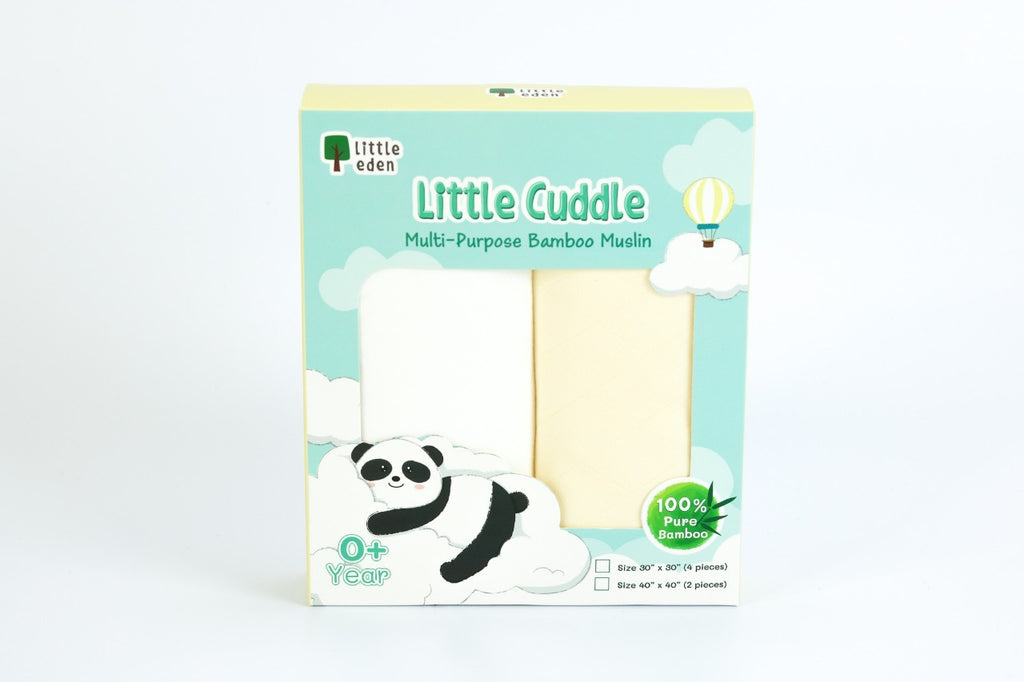 "Little Eden Multi Purpose Bamboo Muslin [40""x40""]"