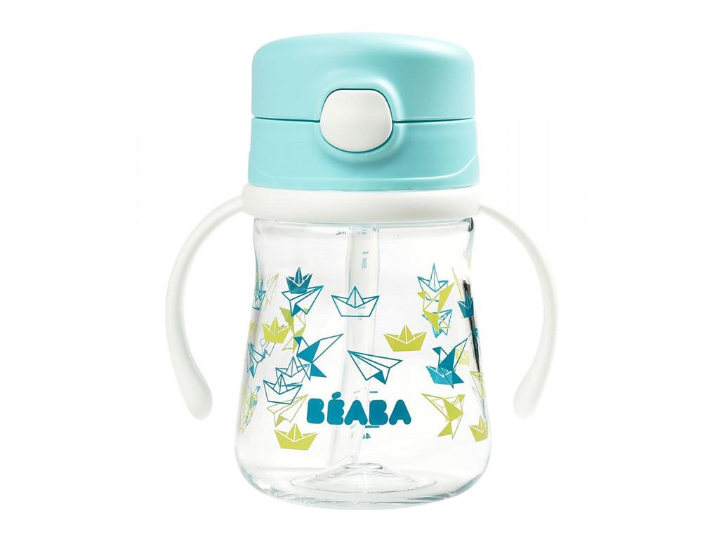 Beaba Straw cup with handles (240ml)