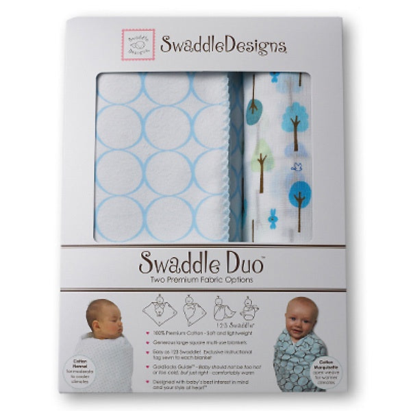 Swaddle Designs Swaddle Duo Cute & Wild Duo