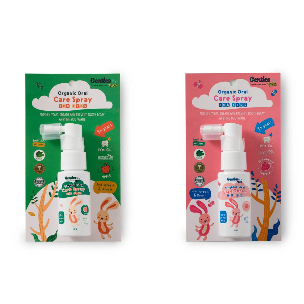 Gentle tots Kid's Organic Oral Care Spray