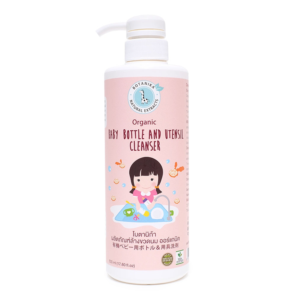 Botanika Baby Bottle and Utensil Cleanser (500ml)