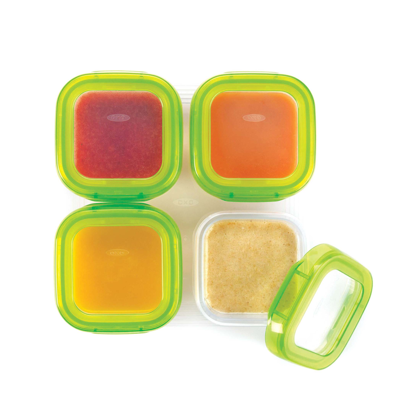 OXO TOT BABY BLOCKS FREEZER STORAGE CONTAINERS (4oz)