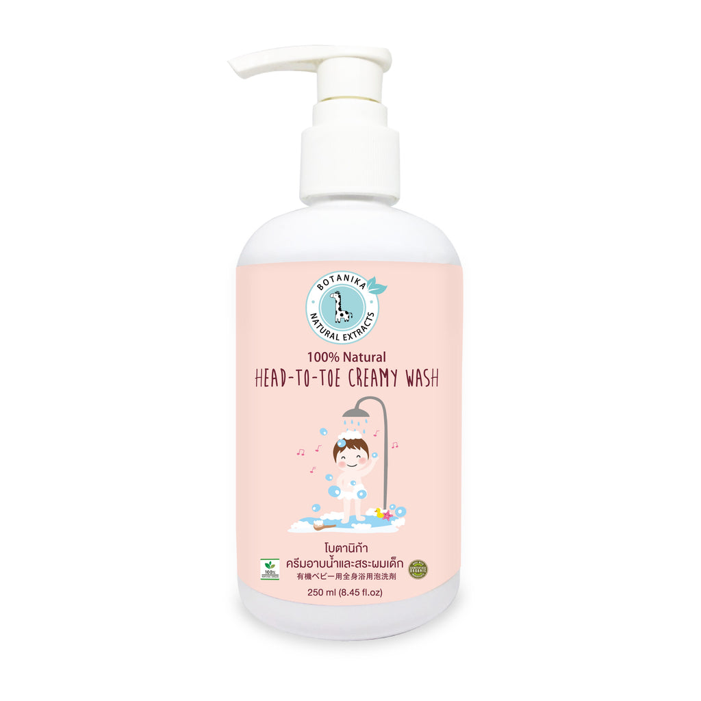 Botanika Head - To - Toe Creamy Wash (250ml)