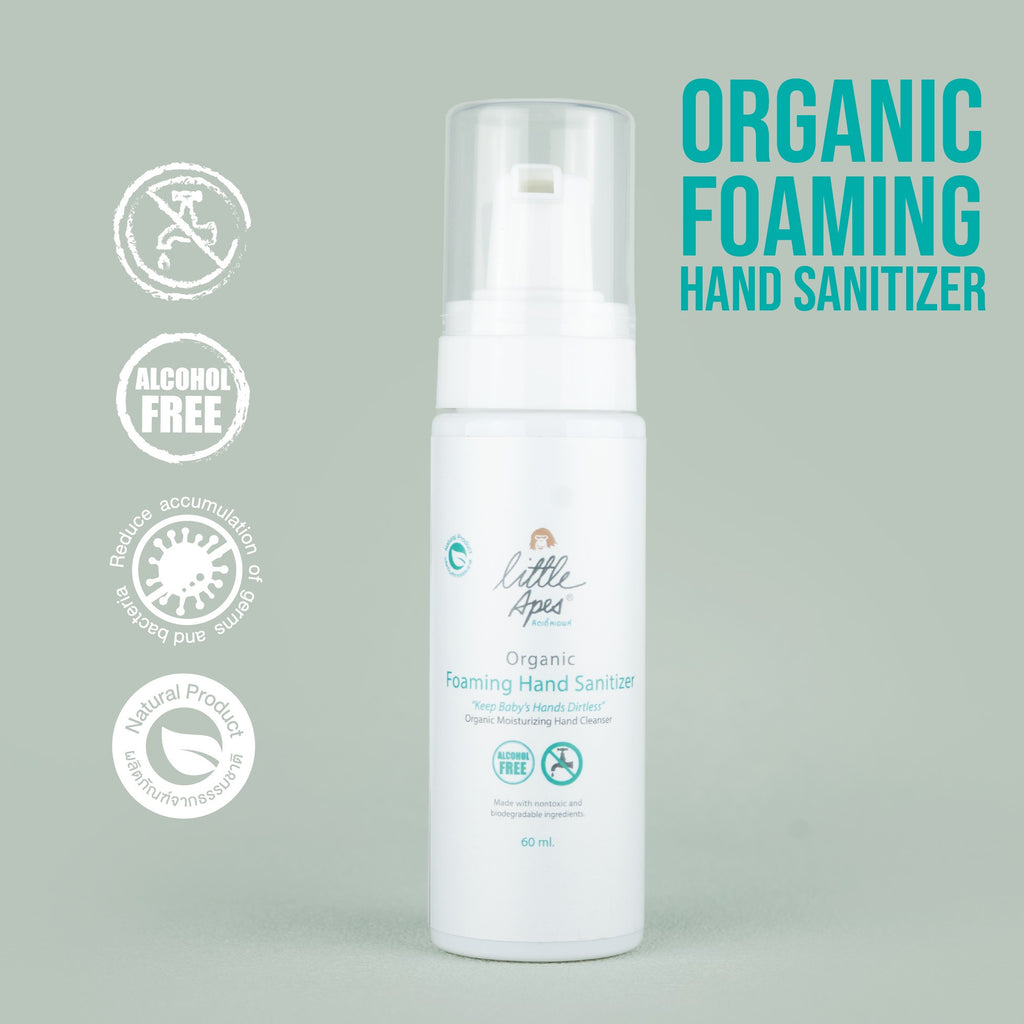 Organic Foaming Hand Sanitizer (60 ml.)