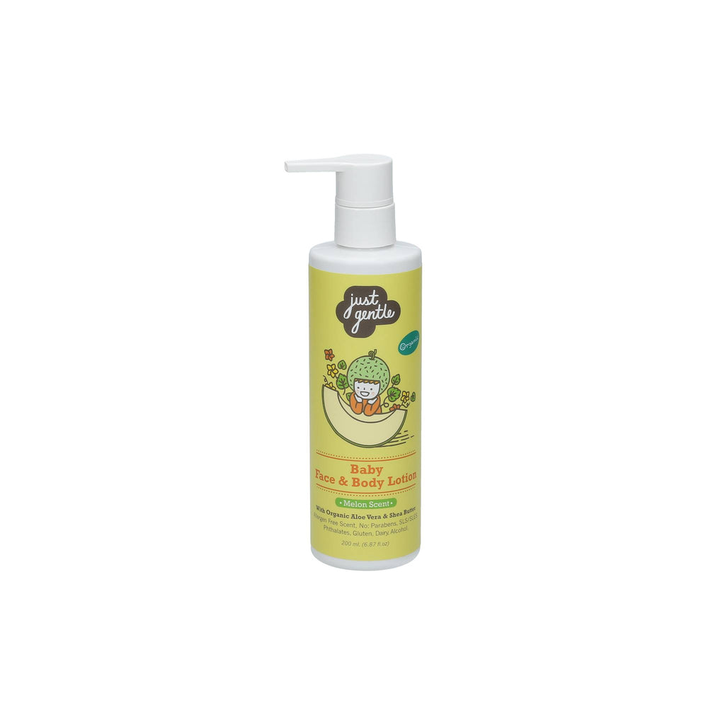 Just Gentle Baby Face & Body Lotion - Melon