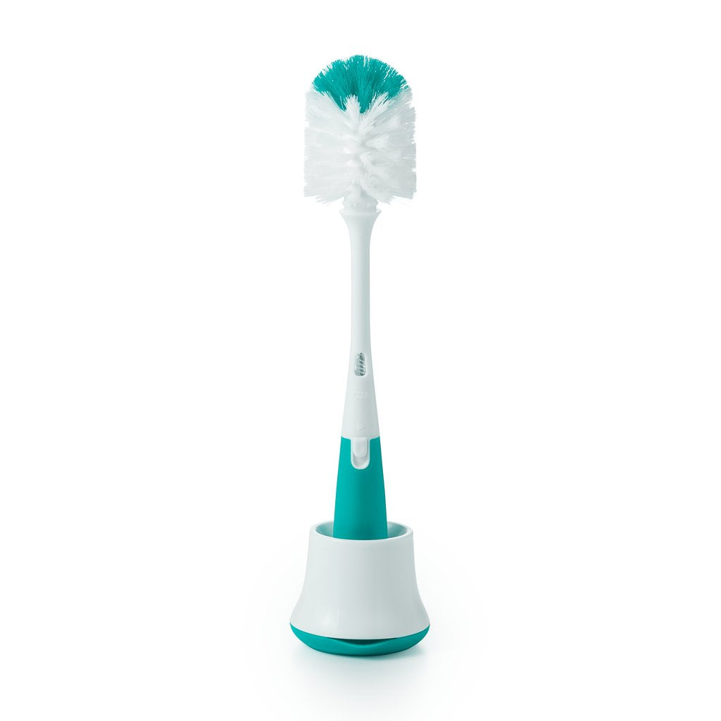 OXO TOT Bottle brush with nipple cleaner and stand