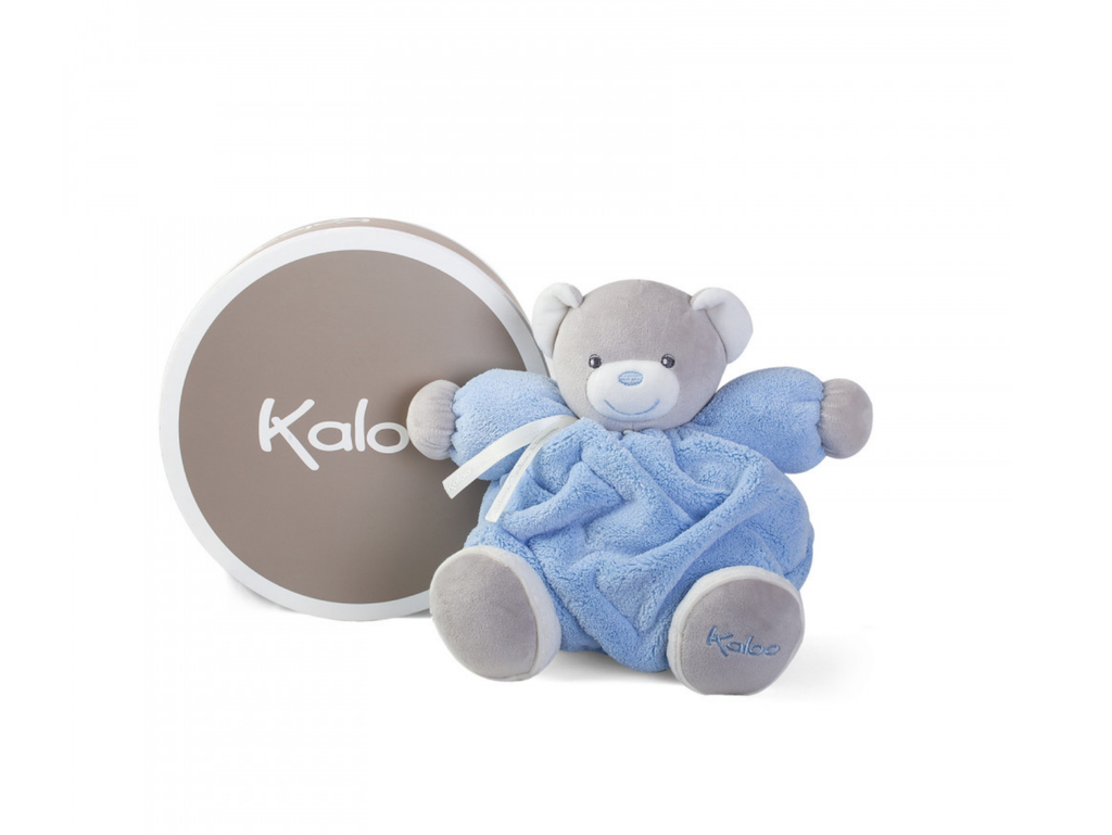 Kaloo Plume - Medium Chubby Blue Bear
