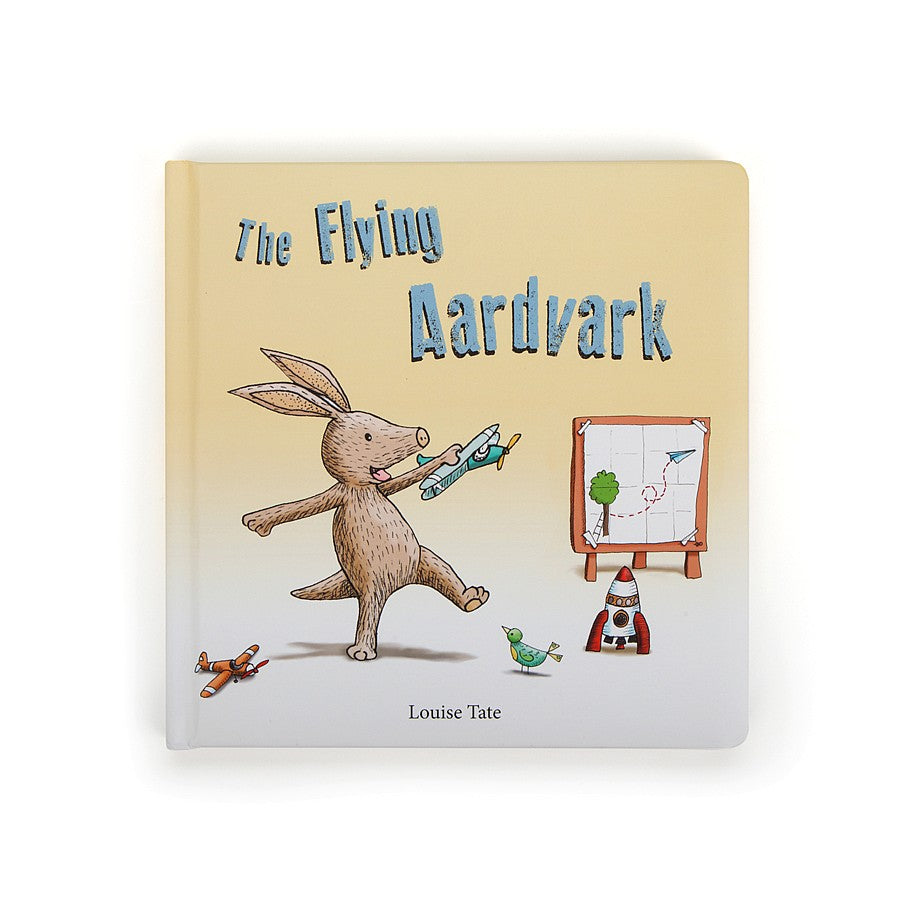 Jellycat The Flying Aardvark Book