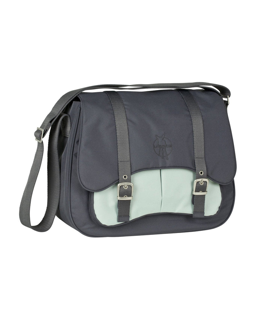 Lassig Casual Courier  Bag - Ebony