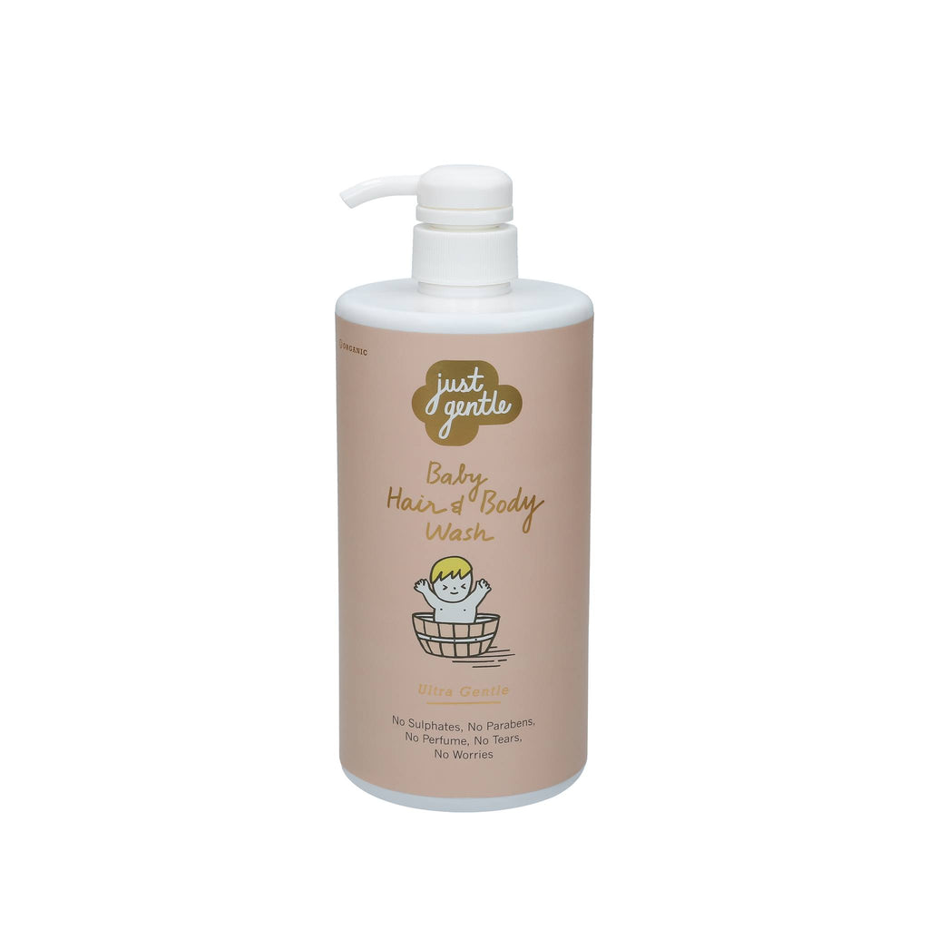 Just Gentle Baby Hair Body Wash Ultra