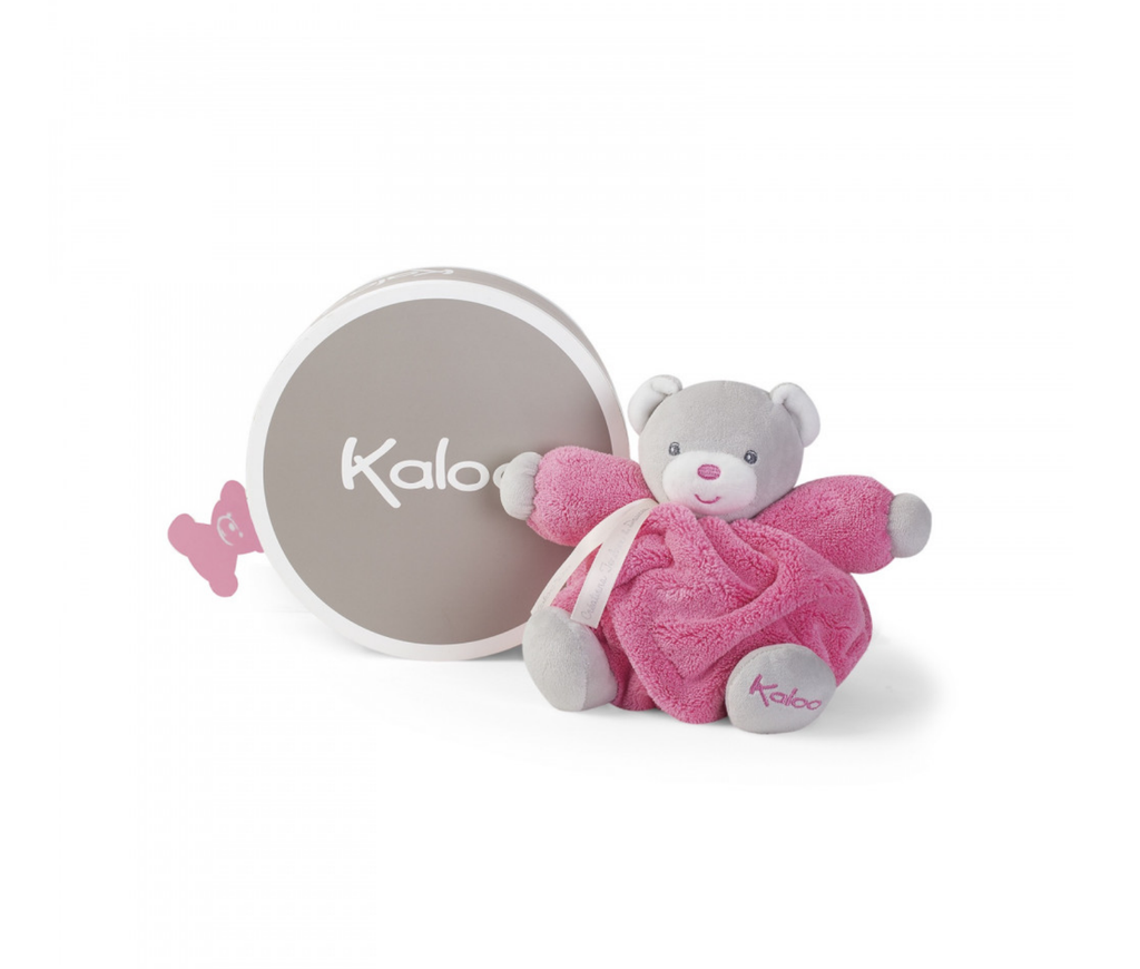 Kaloo Plume - Small Chubby Raspberry Bear