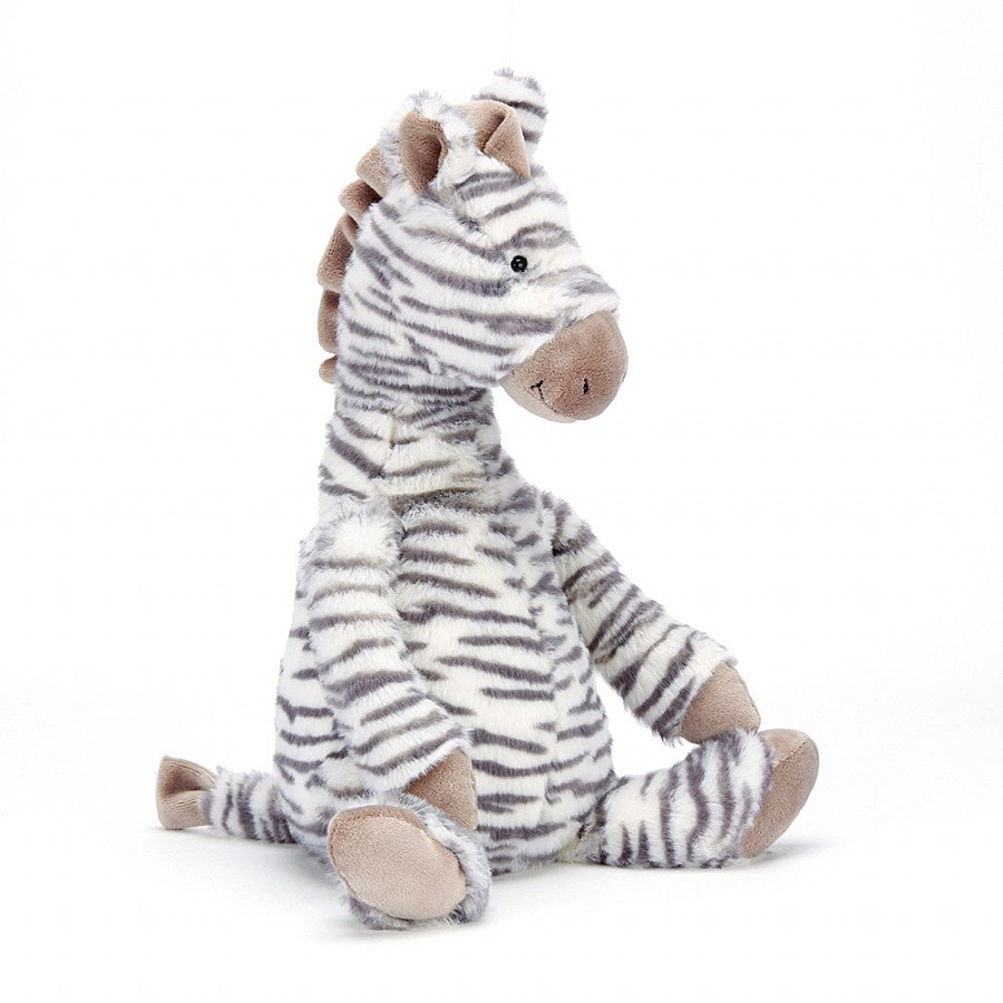 Jellycat Fluffles Zebra Medium
