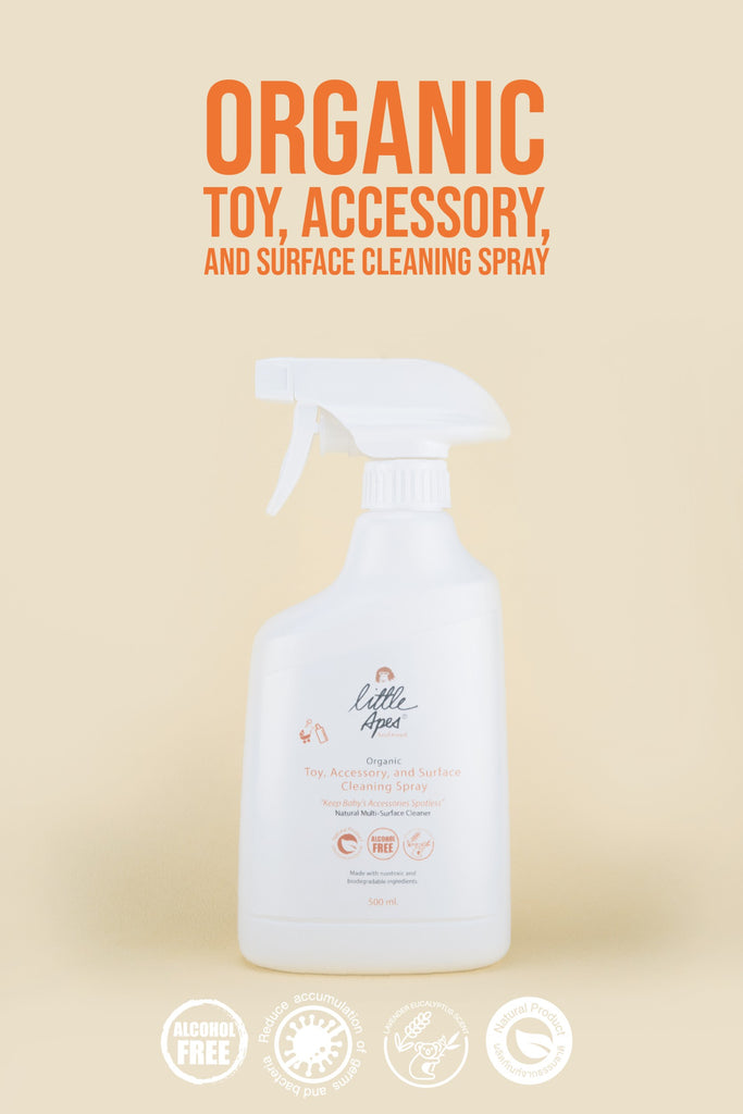 Organic Toy, Accessory and Surface Cleaning Spray (500 ml)