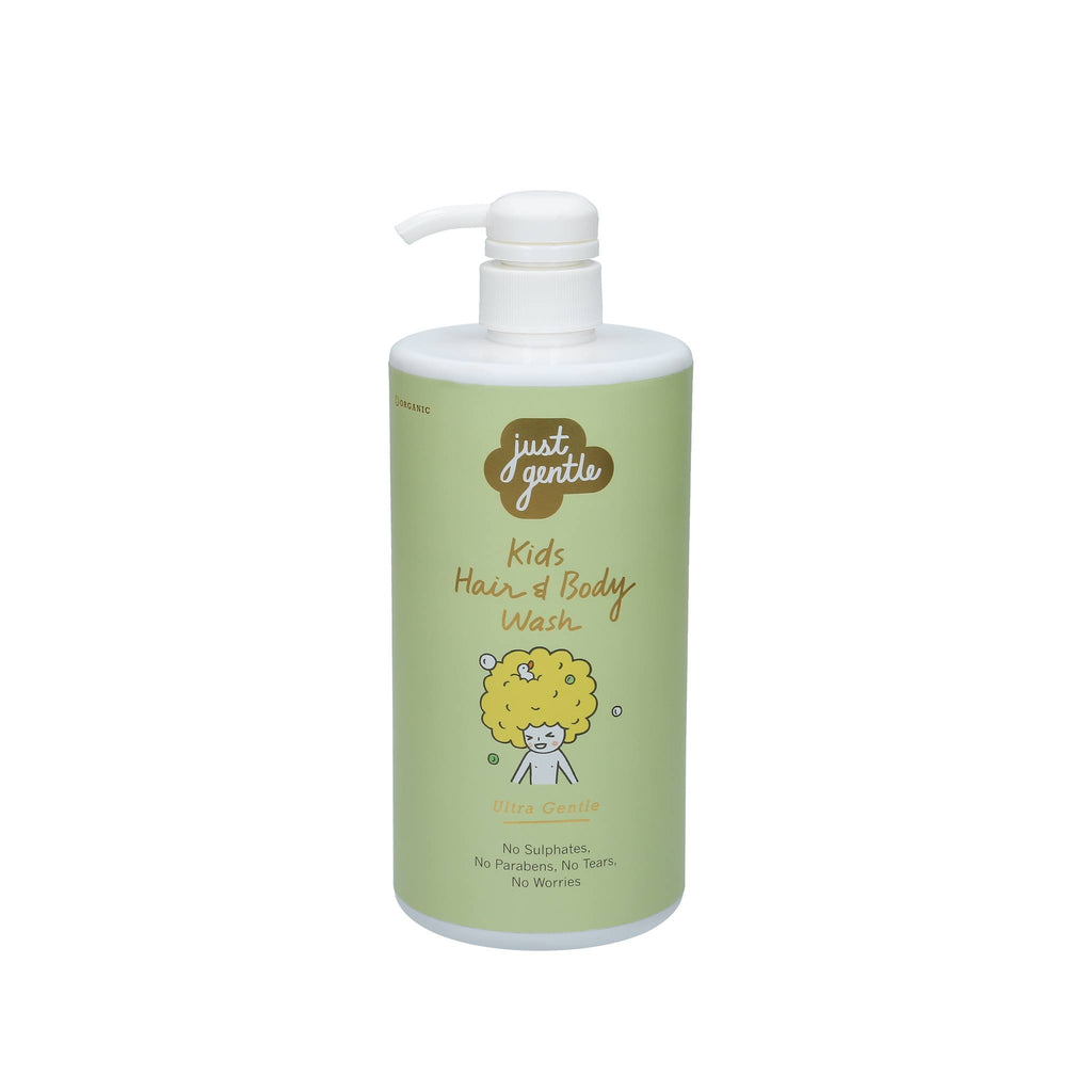 Just Gentle Kids Hair Body Wash  Ultra - Pearberry scent