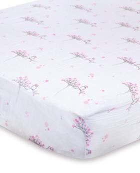 Aden & Anais Single Muslin Crib Sheet