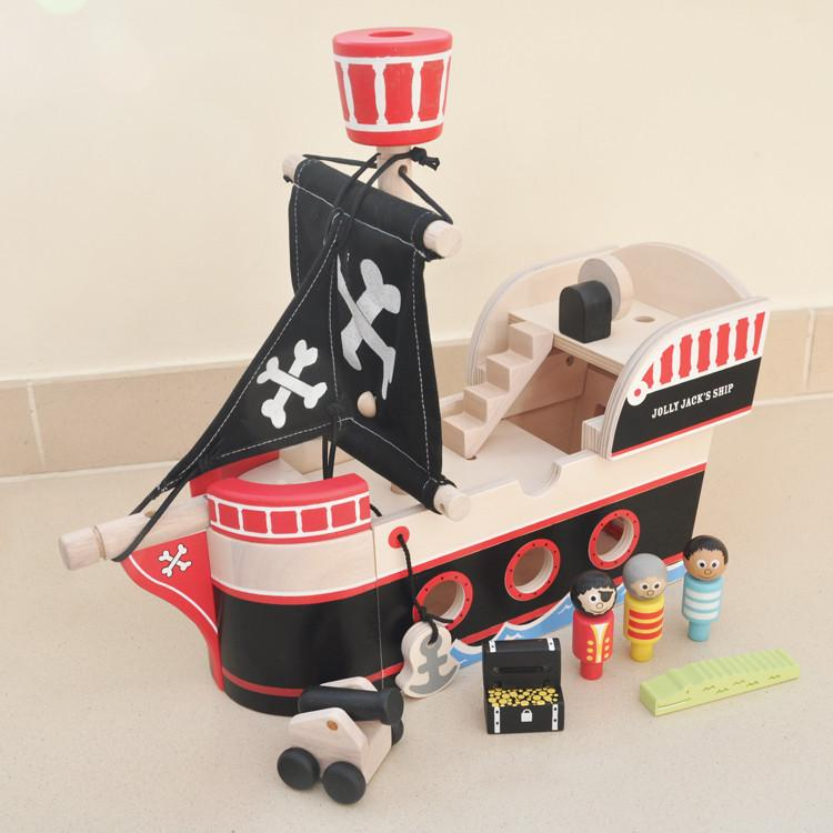 Indigo Jamm Pirate Ship