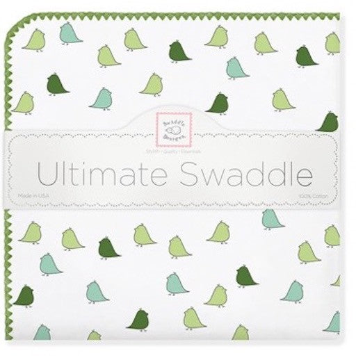 Swaddle Designs Ultimate Receiving Blanket Little Chickies