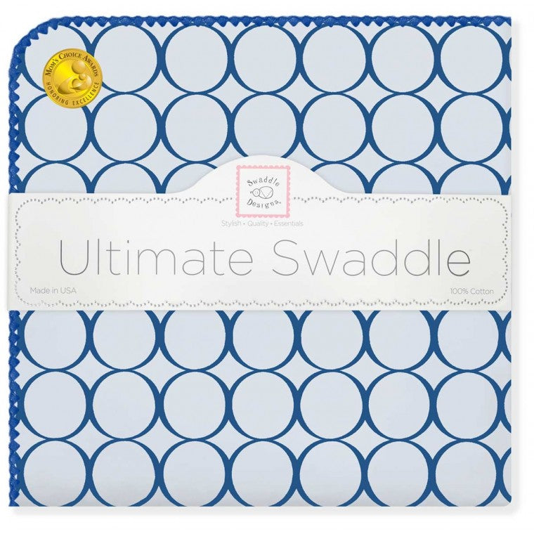 Swaddle Designs Ultimate Receiving Blanket Mod Circles