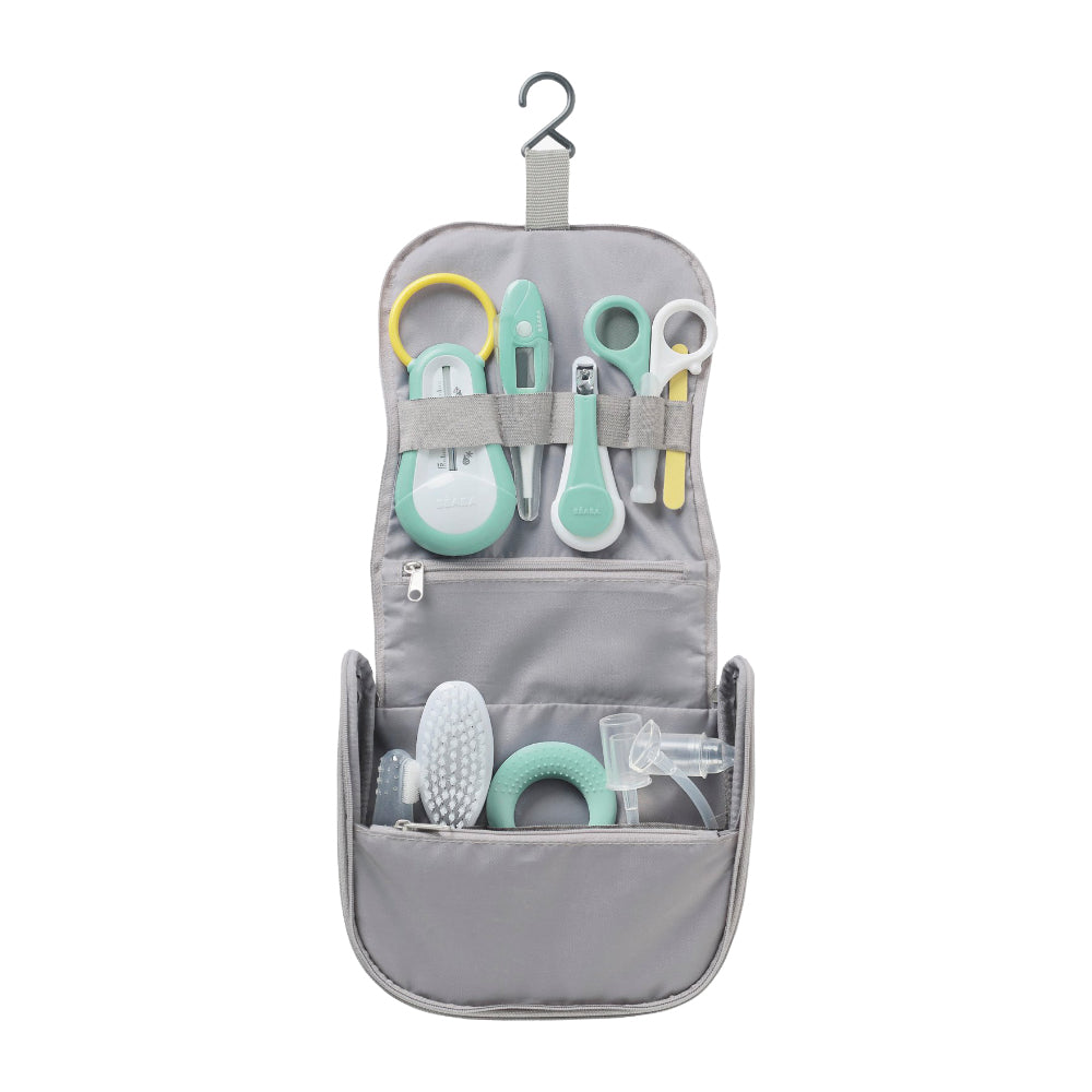 Beaba Hanging Toiletry Pouch with 9 accessories