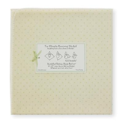 Swaddle Designs Utimate Receiving Blanket - Very Light Dots