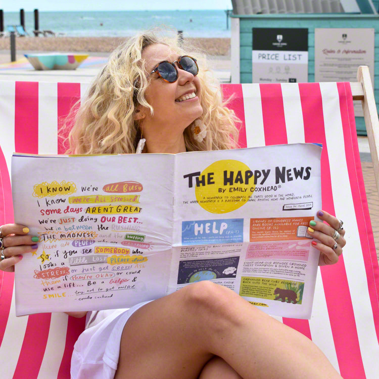 Interview with Emily Coxhead from The Happy Newspaper