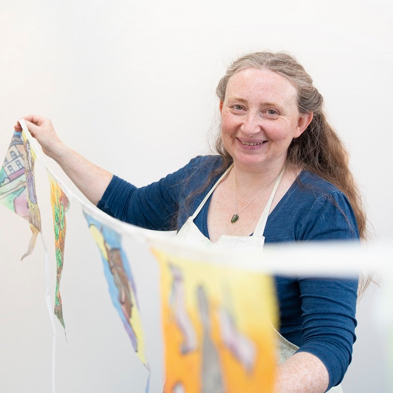 Interview with Jess Kemp, Silk Painting Artist
