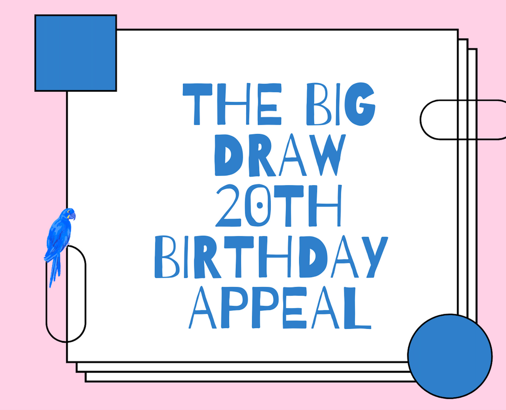 The Big Draw 20th Birthday Appeal -ClimateOfChange
