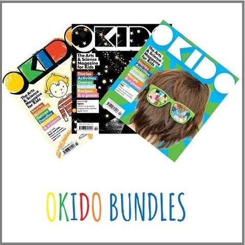 OKIDO Magazine bundles: 3 Issues for £10!