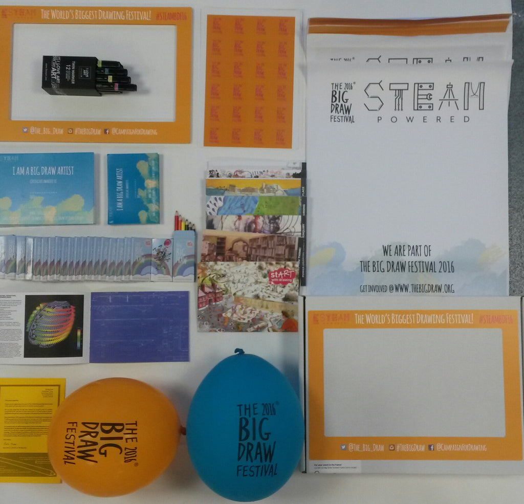 The Big Draw Welcome Pack (Free for Big Draw Festival Organisers!)