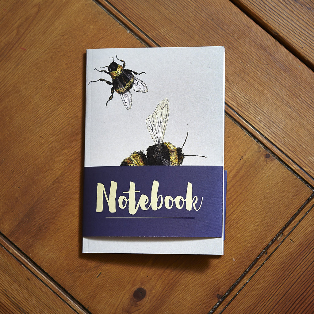 Bumblebee Notebook - Ben Rothery Illustration