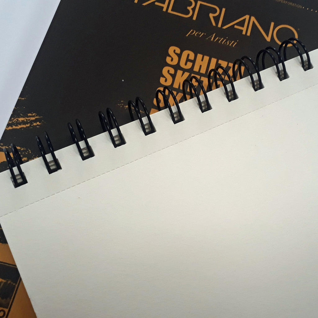 Spiralbound 'Schizzi' Sketchbook (A5) - Fabriano