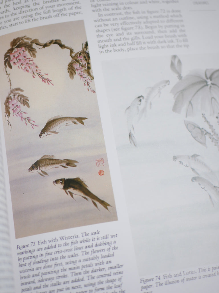 Chinese Brush Painting - Jane Evans / *SECOND HAND BOOK*
