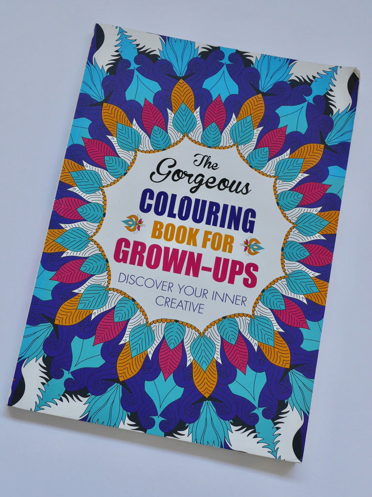The Gorgeous Colouring Book for Grown-Ups / *SECOND HAND BOOK*