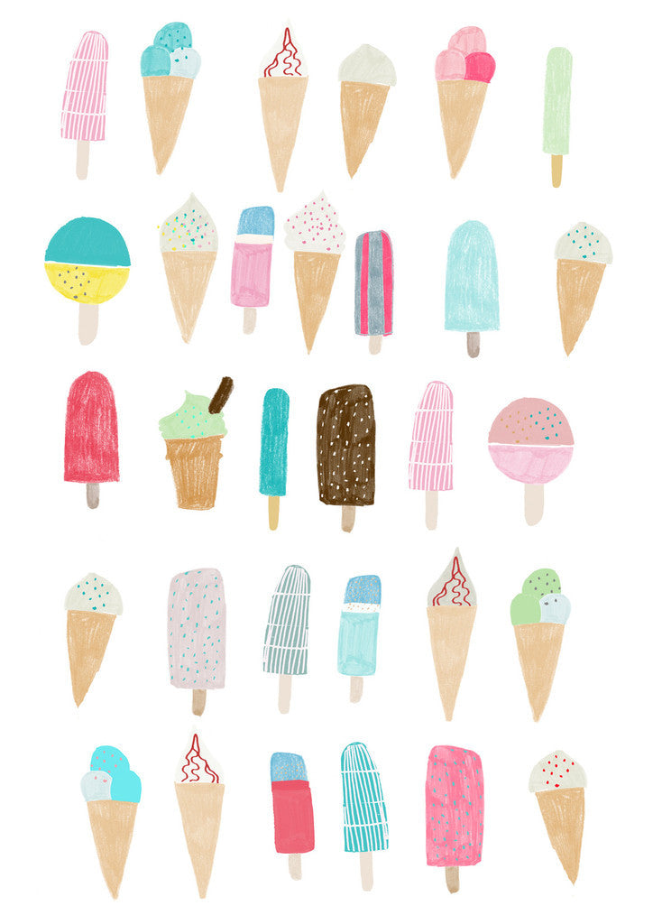 Hanna Melin 'Ice Cream'