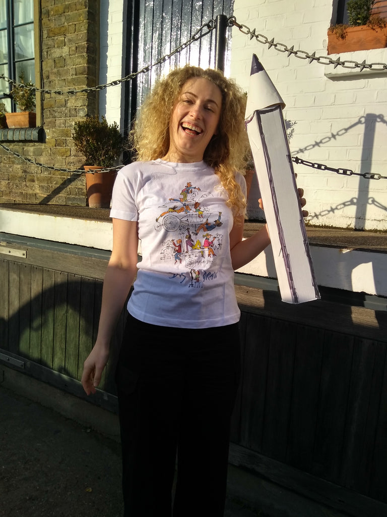 The Big Draw Big Make -Quentin Blake designed T-shirt