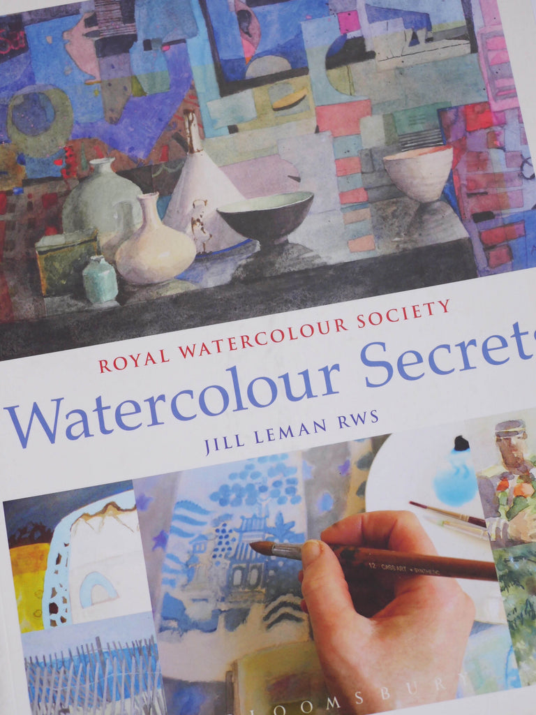Watercolour Secrets - Jill Leman / *SECOND HAND BOOK*