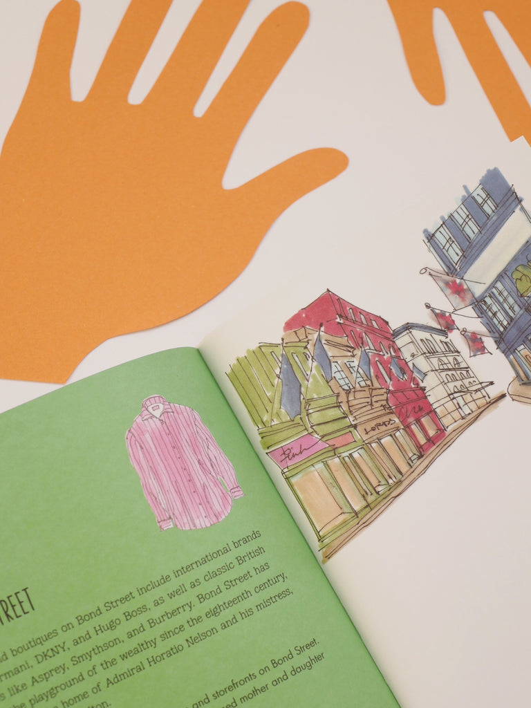 Citysketch London - A Doodle Book for Dreamers / *SECOND HAND BOOK*