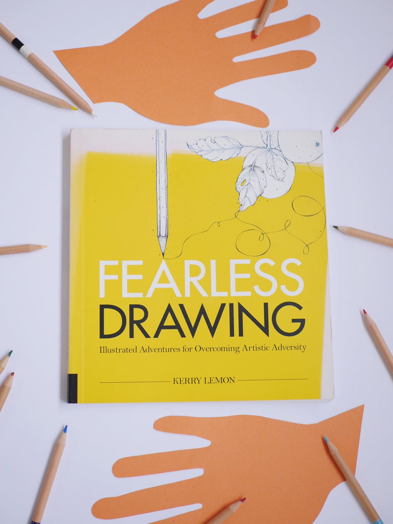 Fearless Drawing -Kerry Lemon / *SECOND HAND BOOK*