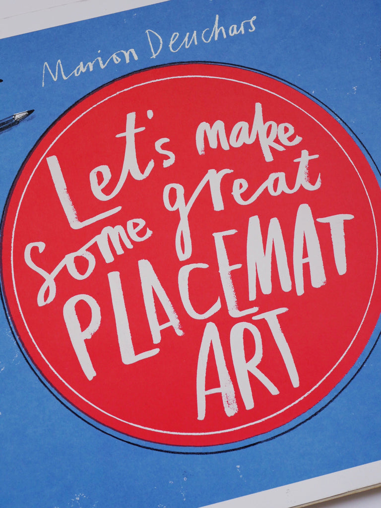 Let's Make Some Great Placement Art - Marion Deuchars / *SECOND HAND BOOK*