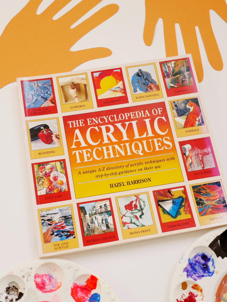 The Encyclopedia of Acrylic Techniques - Hazel Harrison / *SECOND HAND BOOK*